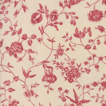 "Moda Fabrics ~ Pondicherry ~ 108"" Wide in Pearl Red (HALF METRE)"