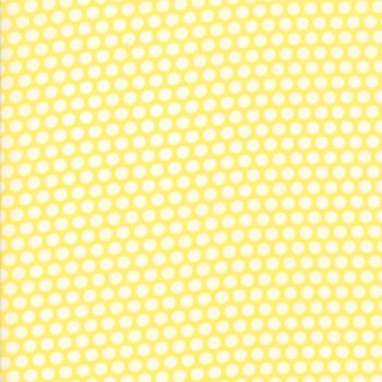 Moda Fabric ~ Bonnie and Camille Basics ~ Bliss Dot Yellow