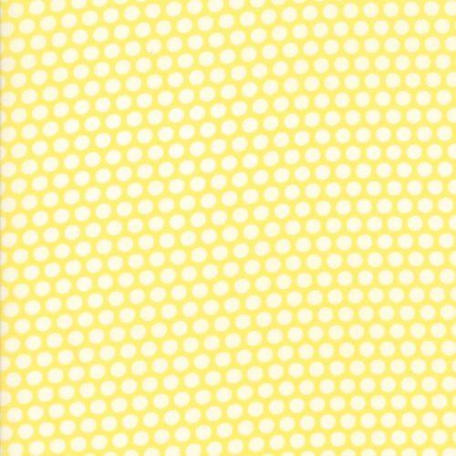 Moda Fabric ~ Bonnie and Camille Basics ~ Bliss Dot Yellow