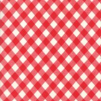 Moda Fabric ~ Bonnie and Camille Basics ~ Gingham Red