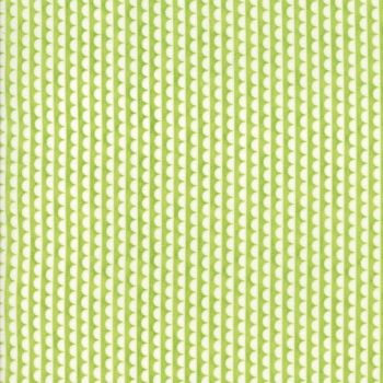 Moda Fabric ~ Bonnie and Camille Basics ~ Ruby Scallop Green