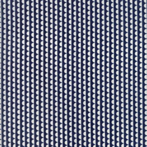 Moda Fabric ~ Bonnie and Camille Basics ~ Ruby Scallop Navy
