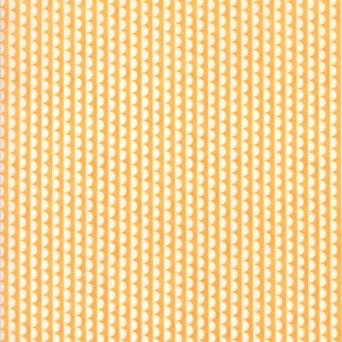 Moda Fabric ~ Bonnie and Camille Basics ~ Ruby Scallop Orange