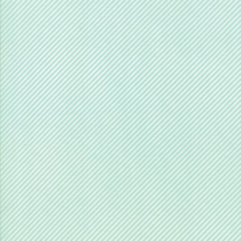 Moda Fabric ~ Bonnie and Camille Basics ~ Scrumptious Stripe Aqua