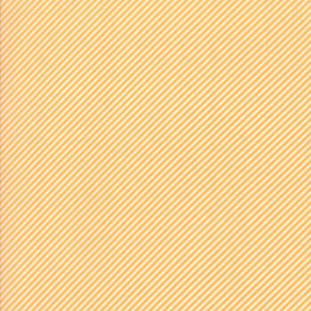 Moda Fabric ~ Bonnie and Camille Basics ~ Scrumptious Stripe Orange