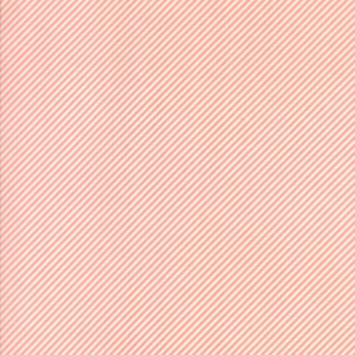 Moda Fabric ~ Bonnie and Camille Basics ~ Scrumptious Stripe Pink