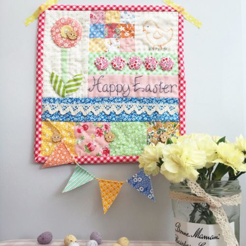 'Make it' Sarah's Happy Easter Mini Quilt PRE-ORDER