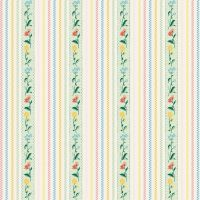 Penny Rose Fabrics ~ Bunnies & Cream ~ Stripe Mint