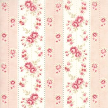 Moda Fabrics ~ Poetry ~ Rosebud Stripe Blush