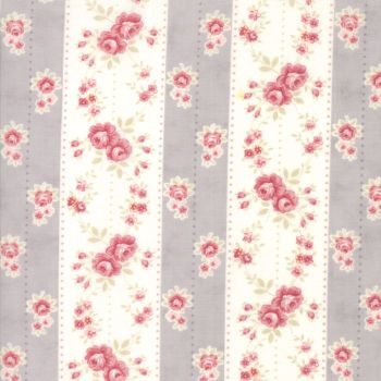 Moda Fabrics ~ Poetry ~ Rosebud Stripe Stone