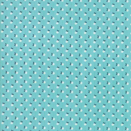 Moda Fabrics ~ Sweet Marion ~ Daisy Chain Robins Egg