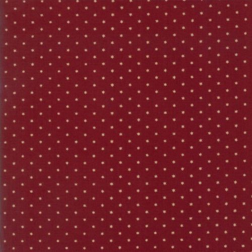 Moda Fabrics ~ Liberty Gatherings ~ Twinkles Dark Red
