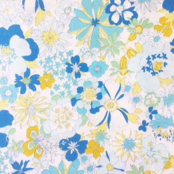 Sevenberry Fabric ~ Fabulously Floral Blue