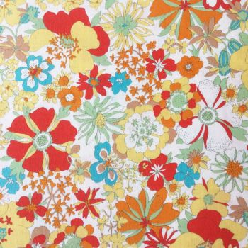 Sevenberry Fabric ~ Fabulously Floral Yellow