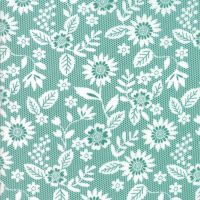Moda Fabrics ~ Sugar Pie ~ Lace Garden Teal