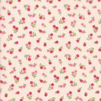 Moda Fabrics ~ Sugar Pie ~ Posies Pink
