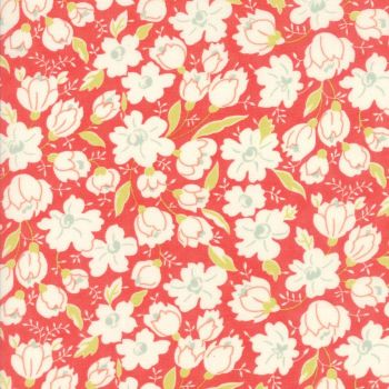 Moda Fabrics ~ Coney Island ~ Buttercups Candy Apple Red