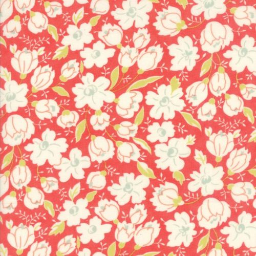 Moda Fabrics ~ Coney Island ~ Buttercups Apple Red