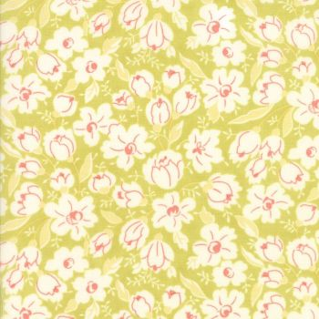Moda Fabrics ~ Coney Island ~ Buttercups Limesicle