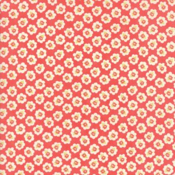 Moda Fabrics ~ Coney Island ~ Cotton Blossoms Candy Apple Red