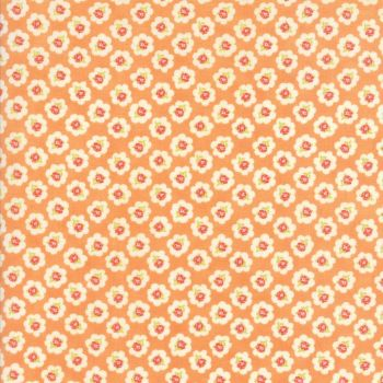 Moda Fabrics ~ Coney Island ~ Cotton Blossoms Orange Sherbert