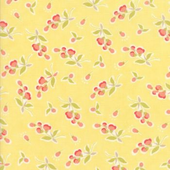 Moda Fabrics ~ Coney Island ~ Posies Buttercup Yellow