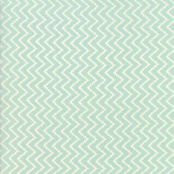 Moda Fabrics ~ Coney Island ~ Zig Zag Ocean Blue