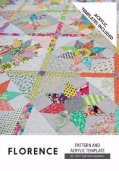 Lucy Carson Kingwell for Jen Kingwell Designs Collective ~ Pattern and Template Set ~ Florence