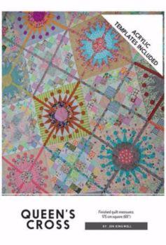 Jen Kingwell Designs ~ Pattern and Template Set ~ Queens Cross