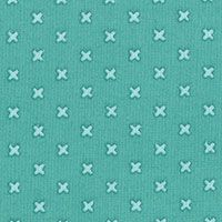 Lecien Fabric ~ L's Modern Basics ~ Kisses Aqua