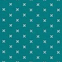 Lecien Fabric ~ L's Modern Basics ~ Kisses Turquoise