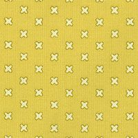 Lecien Fabric ~ L's Modern Basics ~ Kisses Yellow