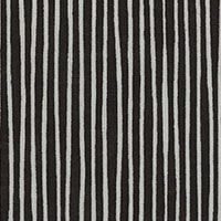 Lecien Fabric ~ L's Modern Basics ~ Rough Stripe Black