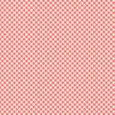 Art Gallery Fabrics ~ Les Petits ~ Checks Coral
