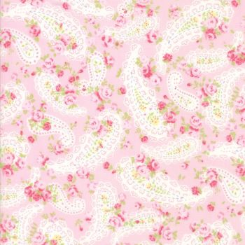 Moda Fabric ~ Guernsey ~ Dawsey Paisley Bloom