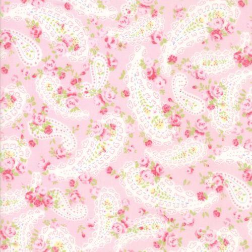 Moda Fabric ~ Guernsey ~ Dawsey Paisley Bloom