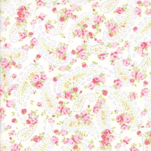 Moda Fabric ~ Guernsey ~ Dawsey Paisley Linen