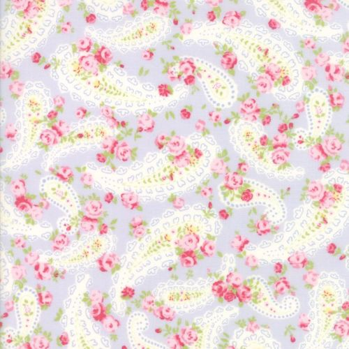 Moda Fabric ~ Guernsey ~ Dawsey Paisley Sky