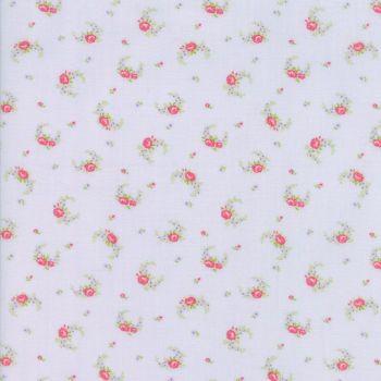 Moda Fabric ~ Guernsey ~ Elizabeth Rose Swag Sky