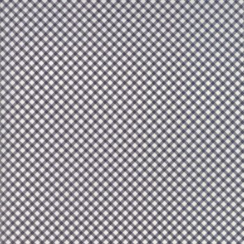 Moda Fabric ~ Guernsey ~ Gingham Charcoal
