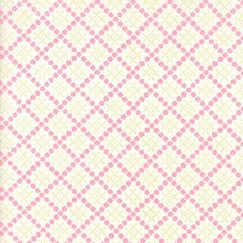 Moda Fabric ~ Guernsey ~ Kit Flower Plaid Linen