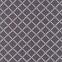 Moda Fabric ~ Guernsey ~ Kit Flower Plaid Charcoal