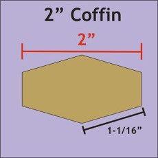Patchwork Paper Pieces ~ Coffins 2