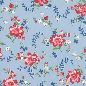 Moda Fabrics ~ Spring-a-Ling ~ Apron Print Baby Boy Blue