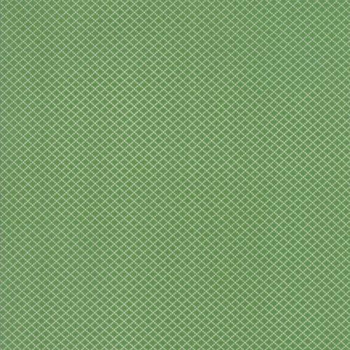 Moda Fabrics ~ Spring-a-Ling ~ Diamond Grid Green