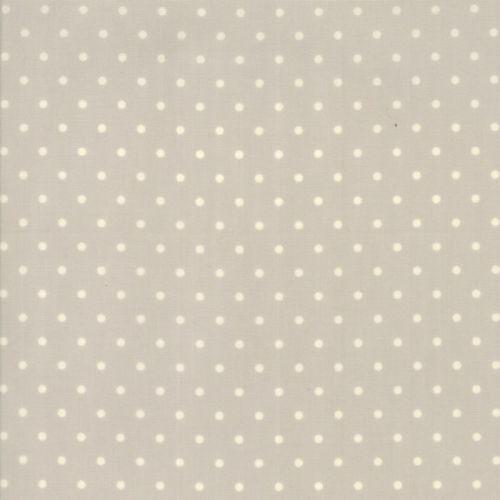 Moda Fabrics ~ Spring-a-Ling ~ Polka Dot Baby Paste Grey