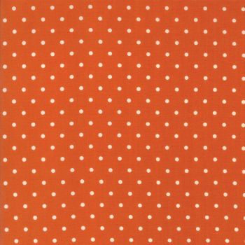 Moda Fabrics ~ Spring-a-Ling ~ Polka Dot Orange
