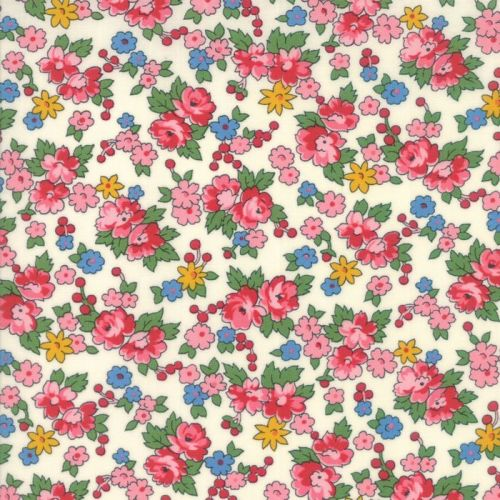 Moda Fabrics ~ Spring-a-Ling ~ Spring Bouquet Cream
