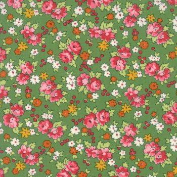 Moda Fabrics ~ Spring-a-Ling ~ Spring Bouquet Green