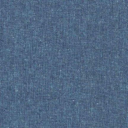 Robert Kaufman Fabrics ~ Essex Yarn Dyed Linen ~ Peacock